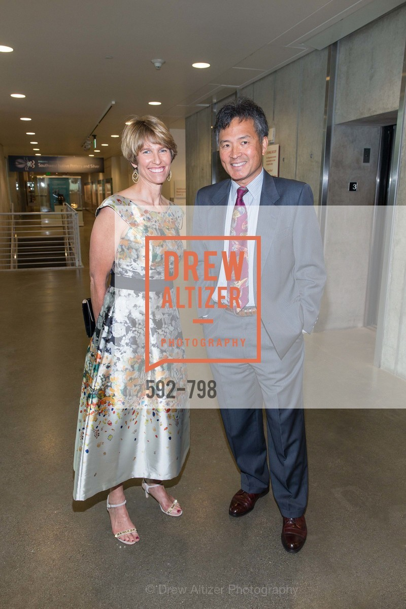 Kate Duhamel, Milton Chen, CALIFORNIA ACADEMY OF SCIENCES - Big Bang Gala 2015, US, April 24th, 2015