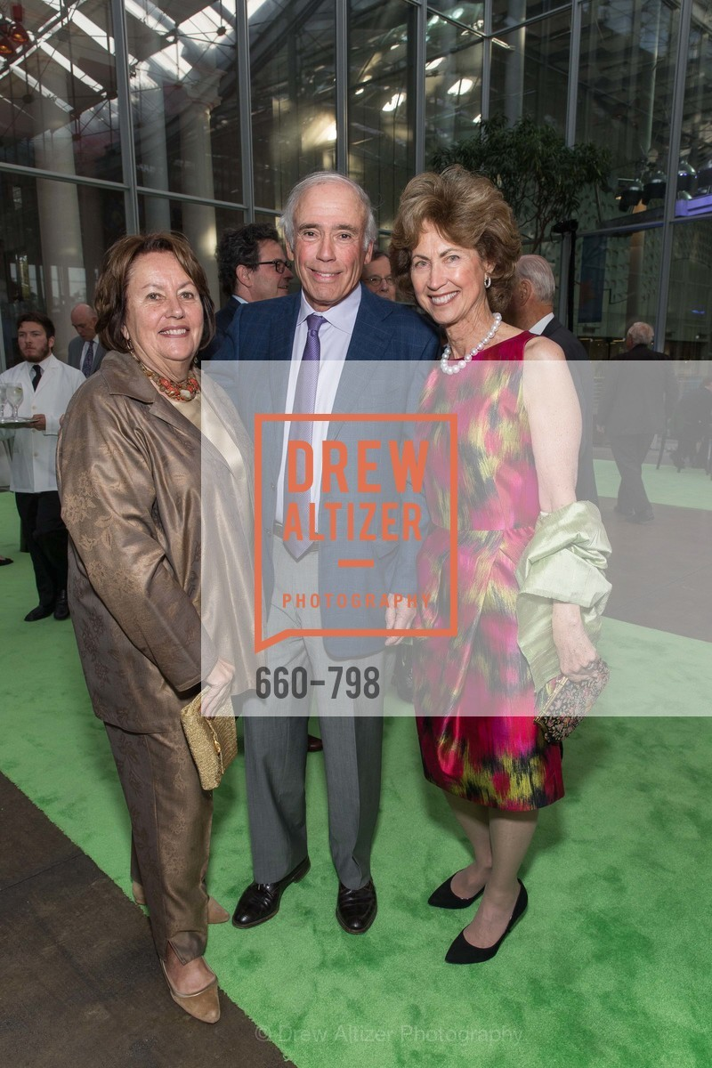 Linda Gruber, Jon Gruber, Mauree Jane Perry, CALIFORNIA ACADEMY OF SCIENCES - Big Bang Gala 2015, US, April 24th, 2015