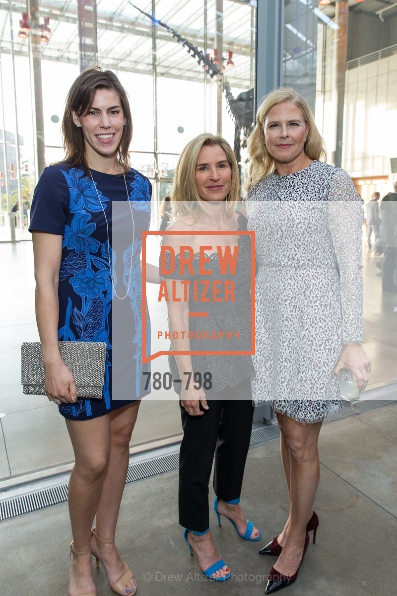 Nicole Schuetz, Summer Tompkins Walker, Virginia Tusher, CALIFORNIA ACADEMY OF SCIENCES - Big Bang Gala 2015, US, April 23rd, 2015,Drew Altizer, Drew Altizer Photography, full-service agency, private events, San Francisco photographer, photographer california