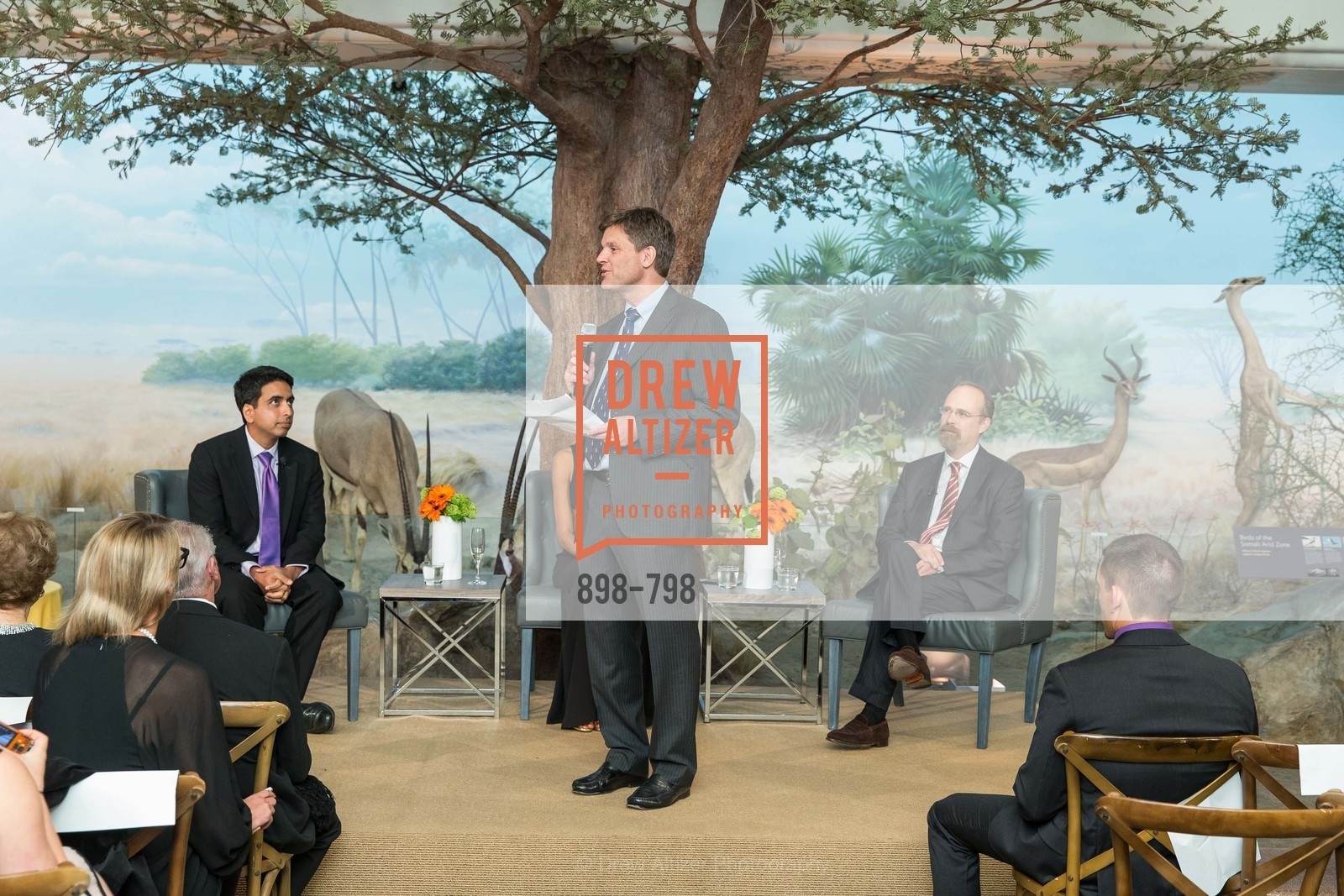 Sal Khan, Bill Duhamel, Adam Messinger, CALIFORNIA ACADEMY OF SCIENCES - Big Bang Gala 2015, US, April 24th, 2015,Drew Altizer, Drew Altizer Photography, full-service agency, private events, San Francisco photographer, photographer california