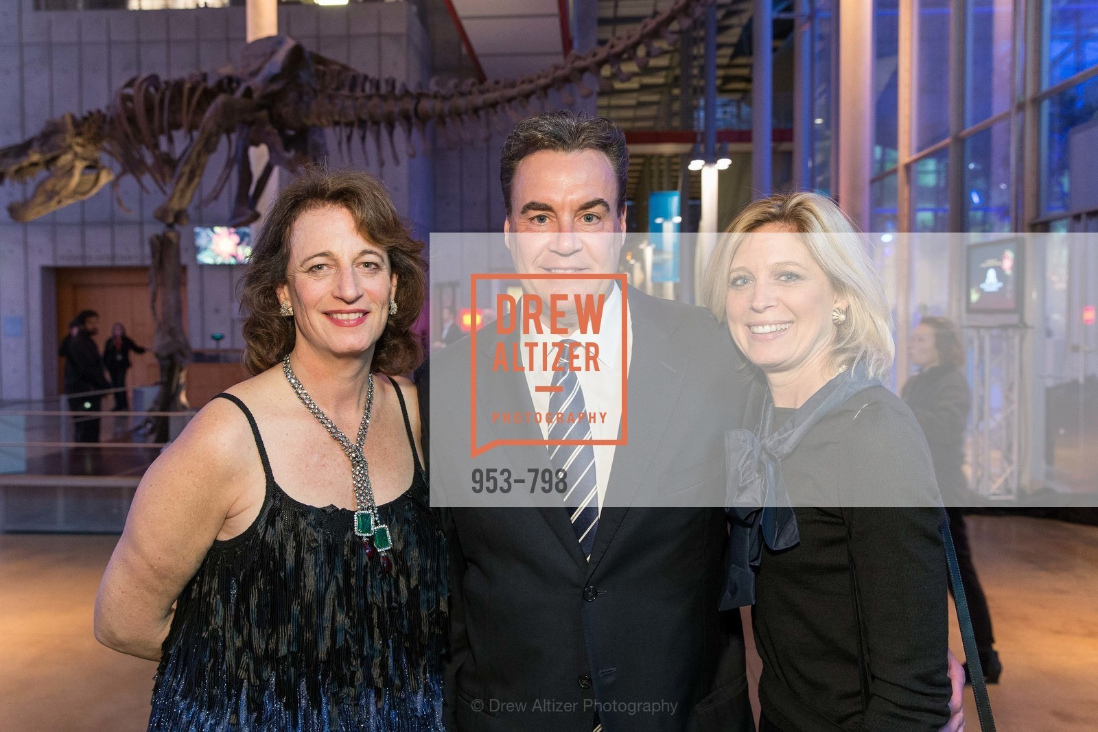 Theo Schwabacher, Jim Messemer, Debbie Messemer, CALIFORNIA ACADEMY OF SCIENCES - Big Bang Gala 2015, US, April 23rd, 2015,Drew Altizer, Drew Altizer Photography, full-service agency, private events, San Francisco photographer, photographer california