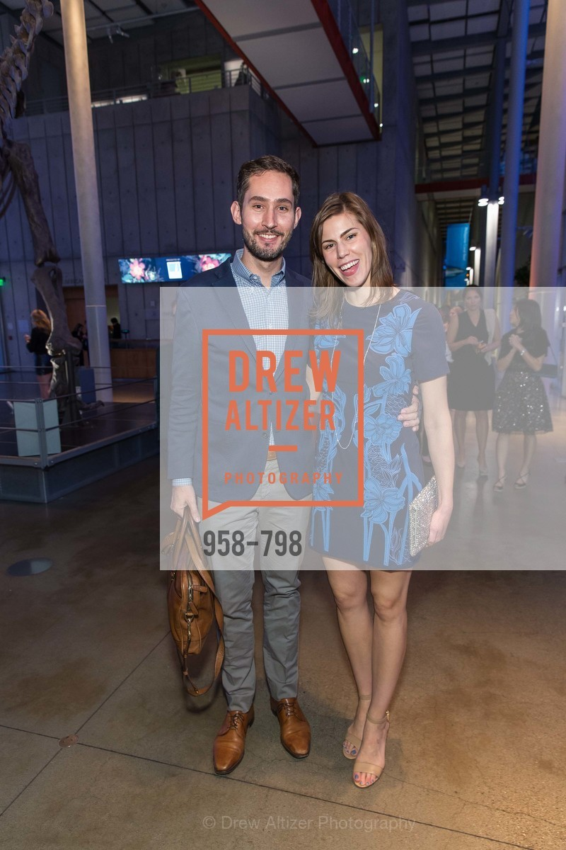 Kevin Systrom, Nicole Schuetz, CALIFORNIA ACADEMY OF SCIENCES - Big Bang Gala 2015, US, April 23rd, 2015,Drew Altizer, Drew Altizer Photography, full-service agency, private events, San Francisco photographer, photographer california