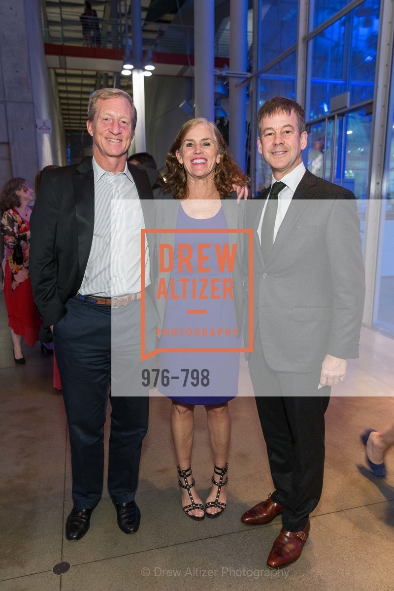 Tom Steyer, Kat Taylor, Henrik Jones, CALIFORNIA ACADEMY OF SCIENCES - Big Bang Gala 2015, US, April 24th, 2015,Drew Altizer, Drew Altizer Photography, full-service agency, private events, San Francisco photographer, photographer california