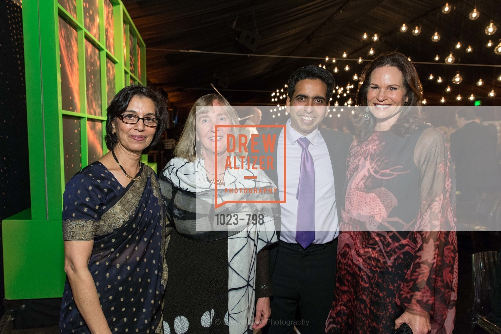 Naseem Marvi, Meg Lowman, Sal Khan, Randi Fisher, CALIFORNIA ACADEMY OF SCIENCES - Big Bang Gala 2015, US, April 23rd, 2015,Drew Altizer, Drew Altizer Photography, full-service agency, private events, San Francisco photographer, photographer california