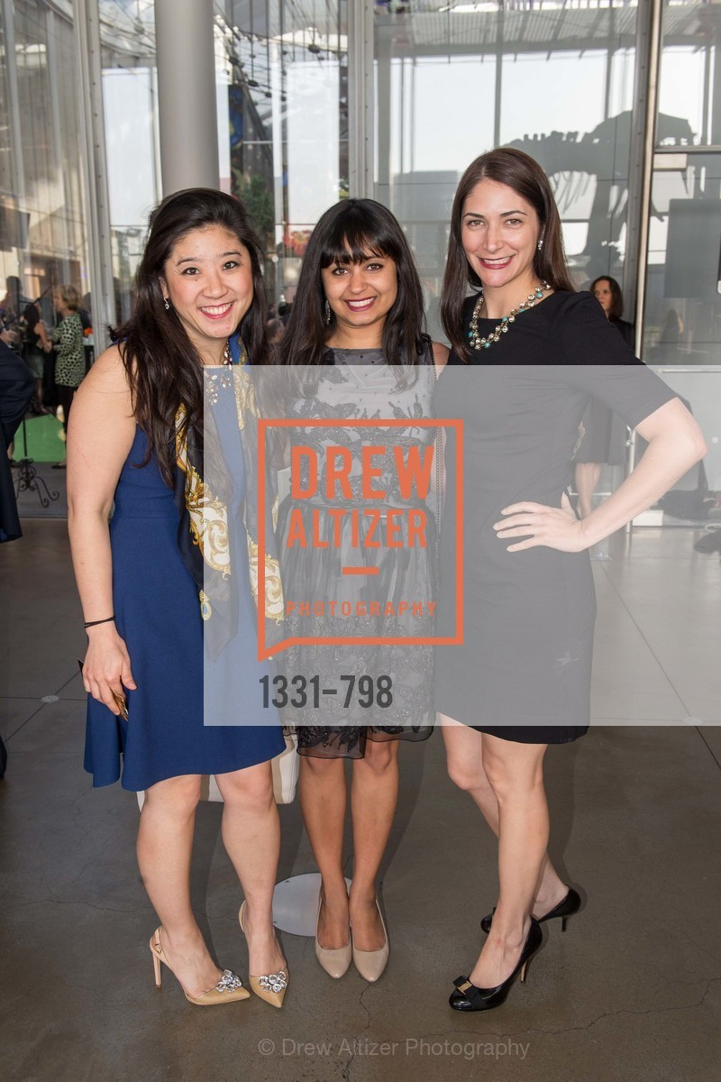 Jessica Isokawa, Agiti Iyer, Leah Recht, CALIFORNIA ACADEMY OF SCIENCES - Big Bang Gala 2015, US, April 24th, 2015,Drew Altizer, Drew Altizer Photography, full-service agency, private events, San Francisco photographer, photographer california