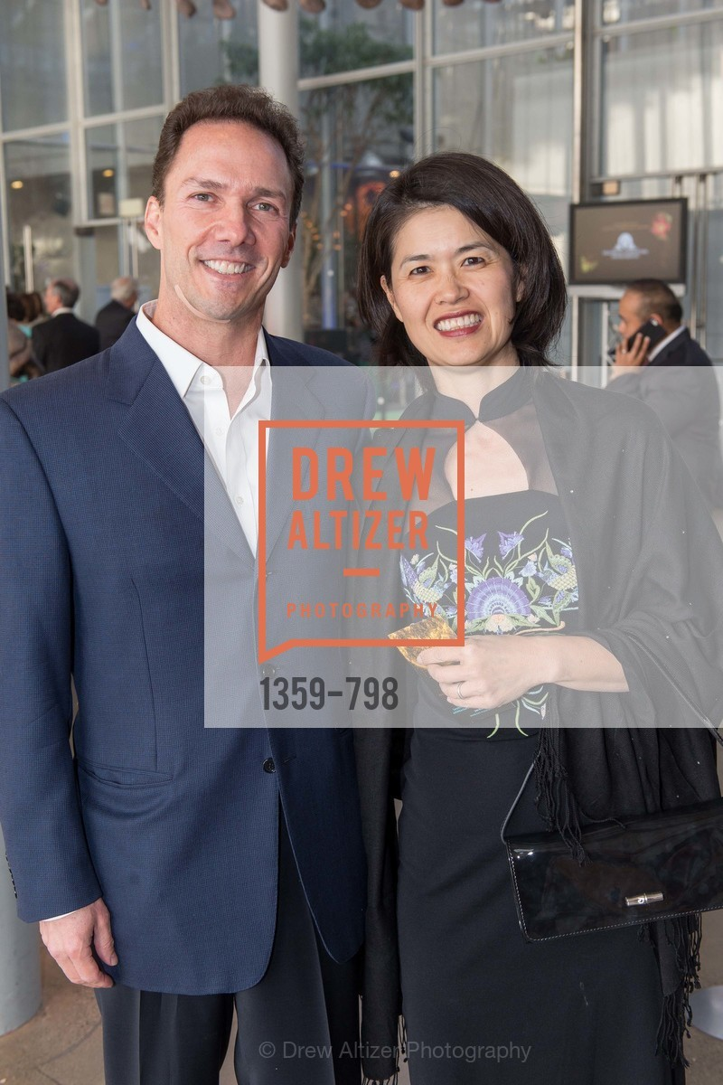 Michael Downs, Mina Muraki, CALIFORNIA ACADEMY OF SCIENCES - Big Bang Gala 2015, US, April 24th, 2015,Drew Altizer, Drew Altizer Photography, full-service agency, private events, San Francisco photographer, photographer california