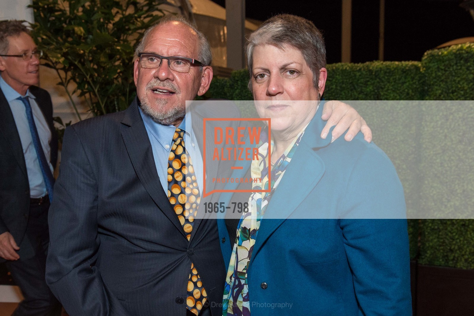 Jon Foley, Janet Napolitano, CALIFORNIA ACADEMY OF SCIENCES - Big Bang Gala 2015, US, April 24th, 2015,Drew Altizer, Drew Altizer Photography, full-service agency, private events, San Francisco photographer, photographer california