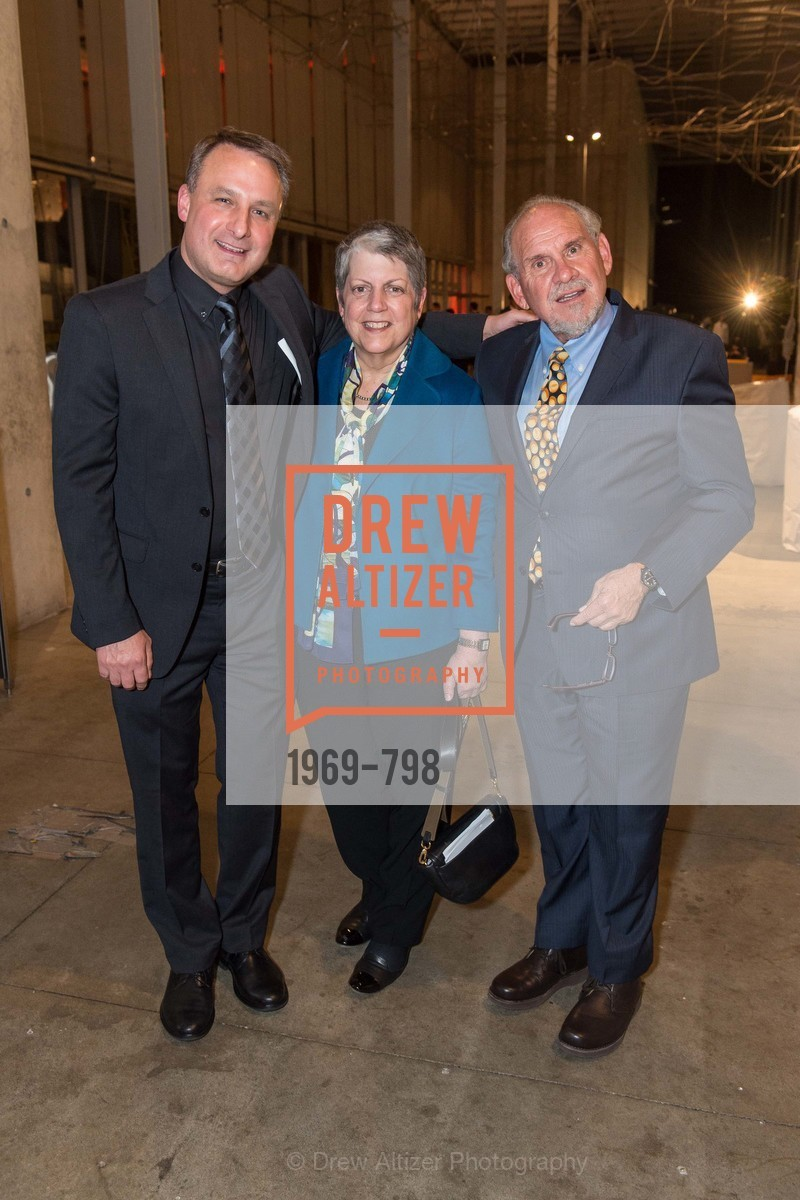 Jon Foley, Janet Napolitano, Larry Brilliant, CALIFORNIA ACADEMY OF SCIENCES - Big Bang Gala 2015, US, April 23rd, 2015,Drew Altizer, Drew Altizer Photography, full-service agency, private events, San Francisco photographer, photographer california