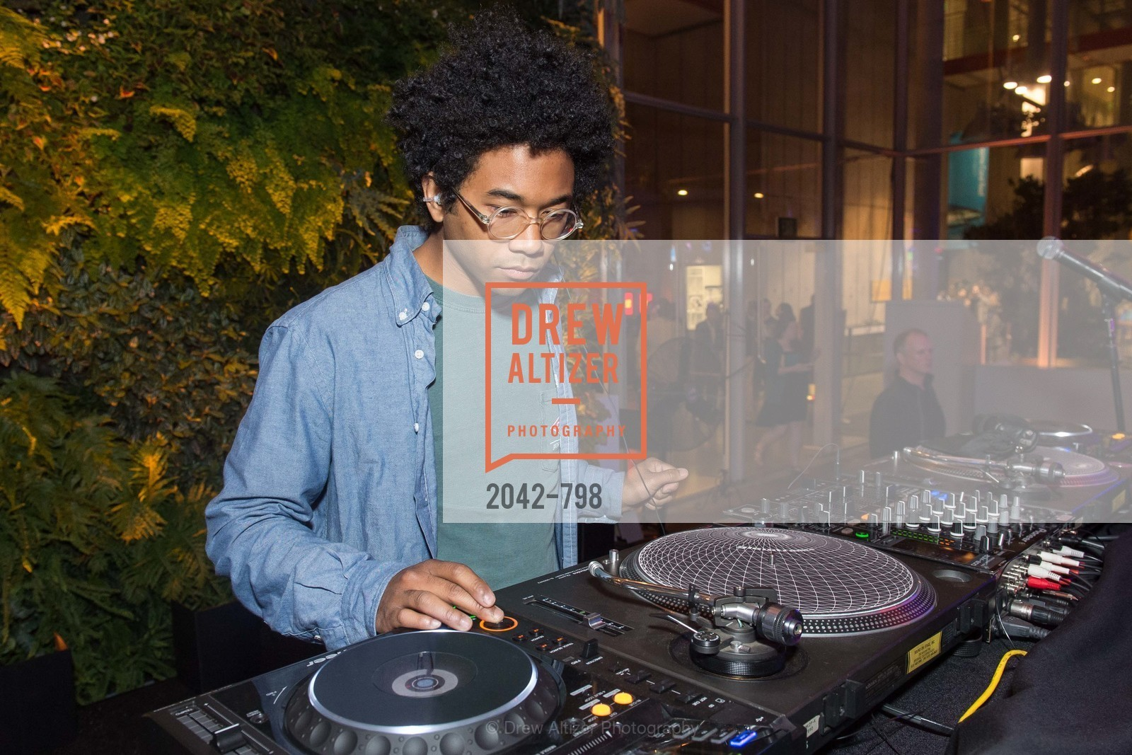 DJ Toro Y Moi, CALIFORNIA ACADEMY OF SCIENCES - Big Bang Gala 2015, US, April 24th, 2015,Drew Altizer, Drew Altizer Photography, full-service agency, private events, San Francisco photographer, photographer california