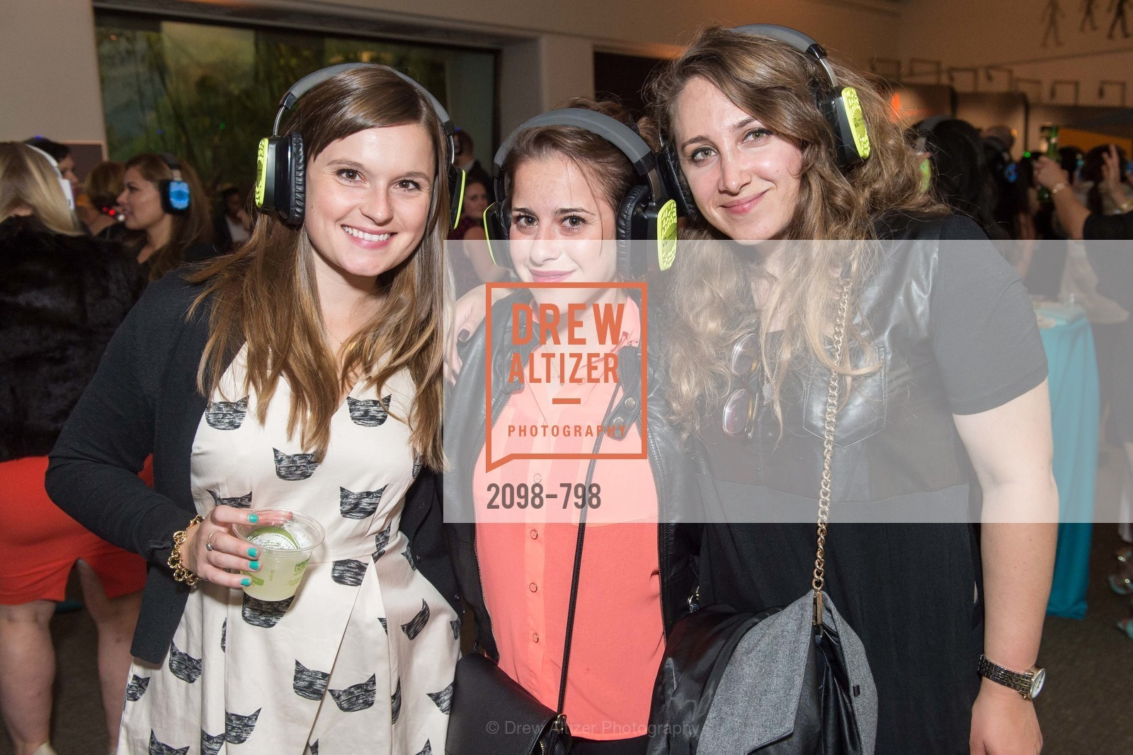 Megan Murphy, Carmona Chandler, Marianna Levyasa, CALIFORNIA ACADEMY OF SCIENCES - Big Bang Gala 2015, US, April 24th, 2015,Drew Altizer, Drew Altizer Photography, full-service agency, private events, San Francisco photographer, photographer california
