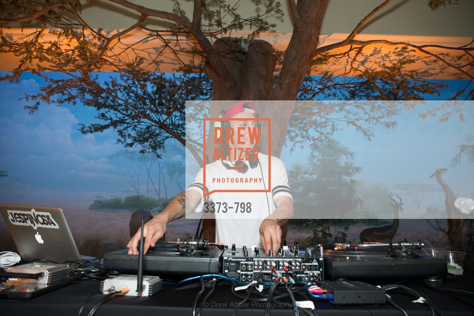DJ Espinosa, CALIFORNIA ACADEMY OF SCIENCES - Big Bang Gala 2015, US, April 23rd, 2015,Drew Altizer, Drew Altizer Photography, full-service agency, private events, San Francisco photographer, photographer california
