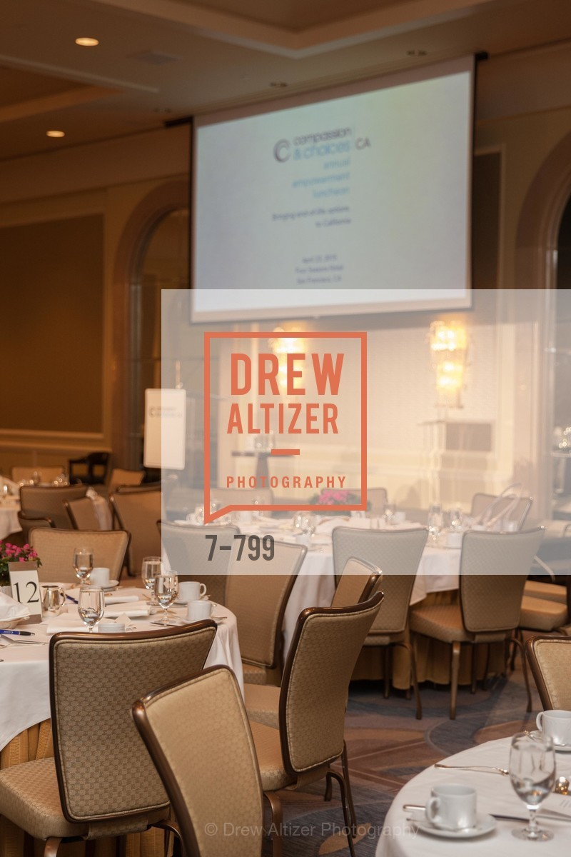 Atmosphere, COMPASSION & CHOICES - Empowerment Luncheon, US, April 23rd, 2015,Drew Altizer, Drew Altizer Photography, full-service agency, private events, San Francisco photographer, photographer california