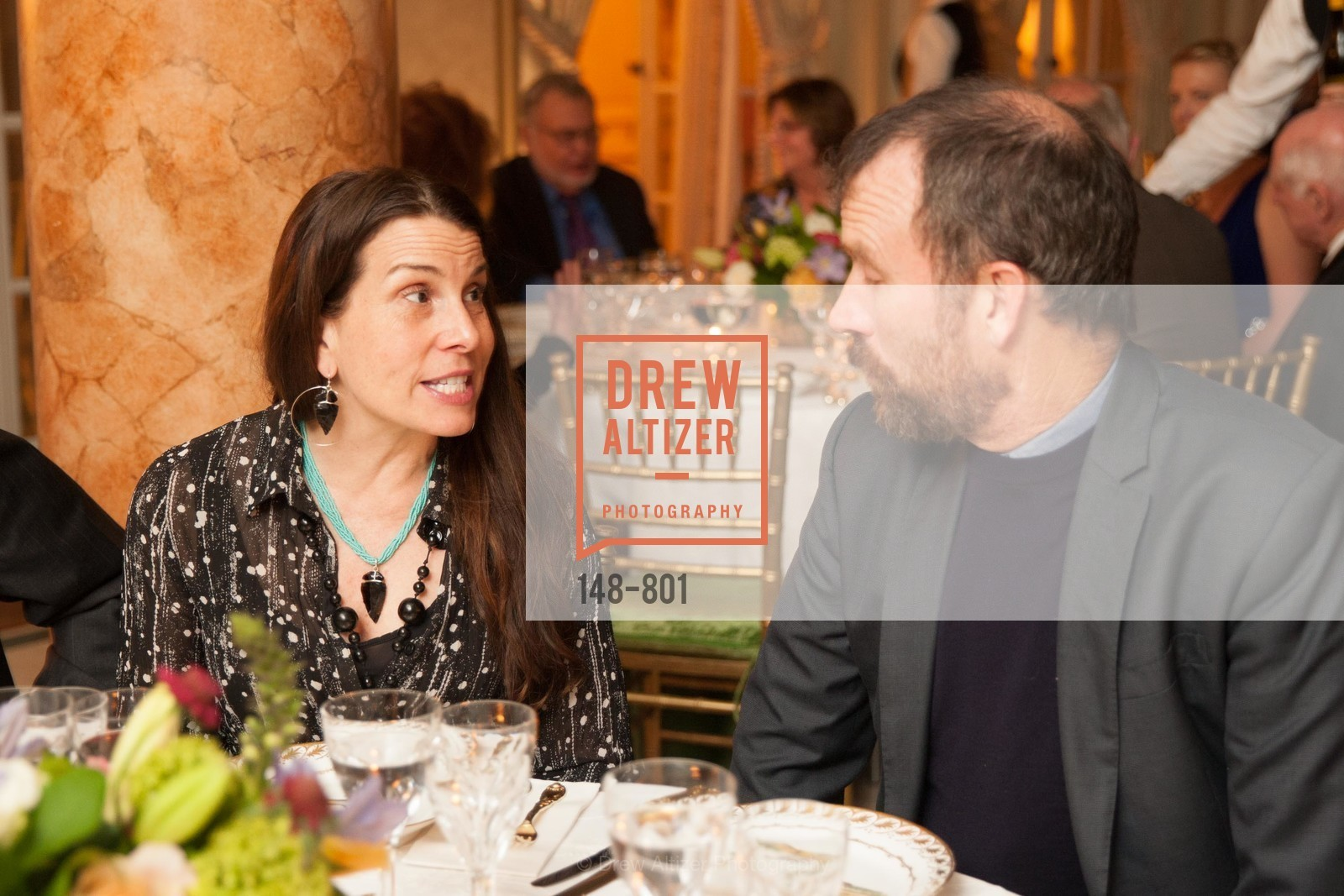 Jennifer Gomer Sall, Henry Gilbert, GETTY Hosts Leakey Foundation Dinner, US, April 23rd, 2015,Drew Altizer, Drew Altizer Photography, full-service agency, private events, San Francisco photographer, photographer california