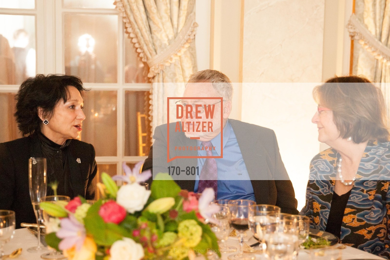 Jeanne Newman, Jack Harris, Alice Corning, GETTY Hosts Leakey Foundation Dinner, US, April 24th, 2015,Drew Altizer, Drew Altizer Photography, full-service agency, private events, San Francisco photographer, photographer california