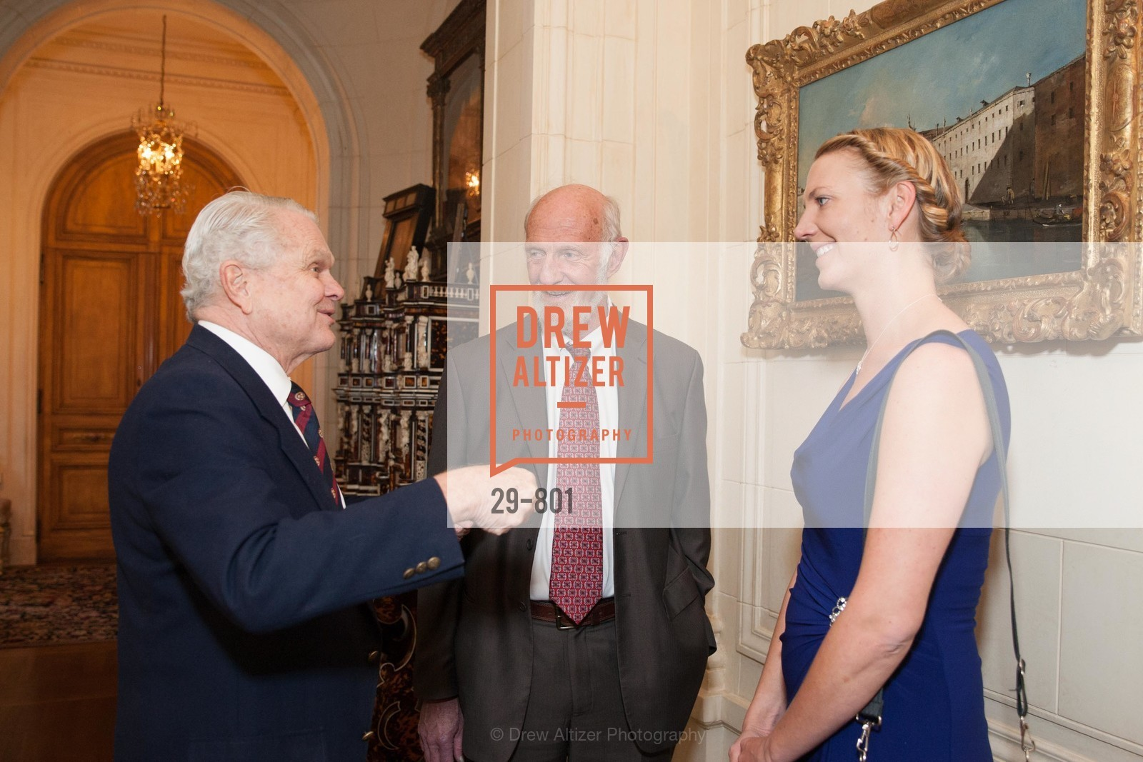 Bill Richards, Frank Brown, Elise Brown, GETTY Hosts Leakey Foundation Dinner, US, April 24th, 2015,Drew Altizer, Drew Altizer Photography, full-service agency, private events, San Francisco photographer, photographer california