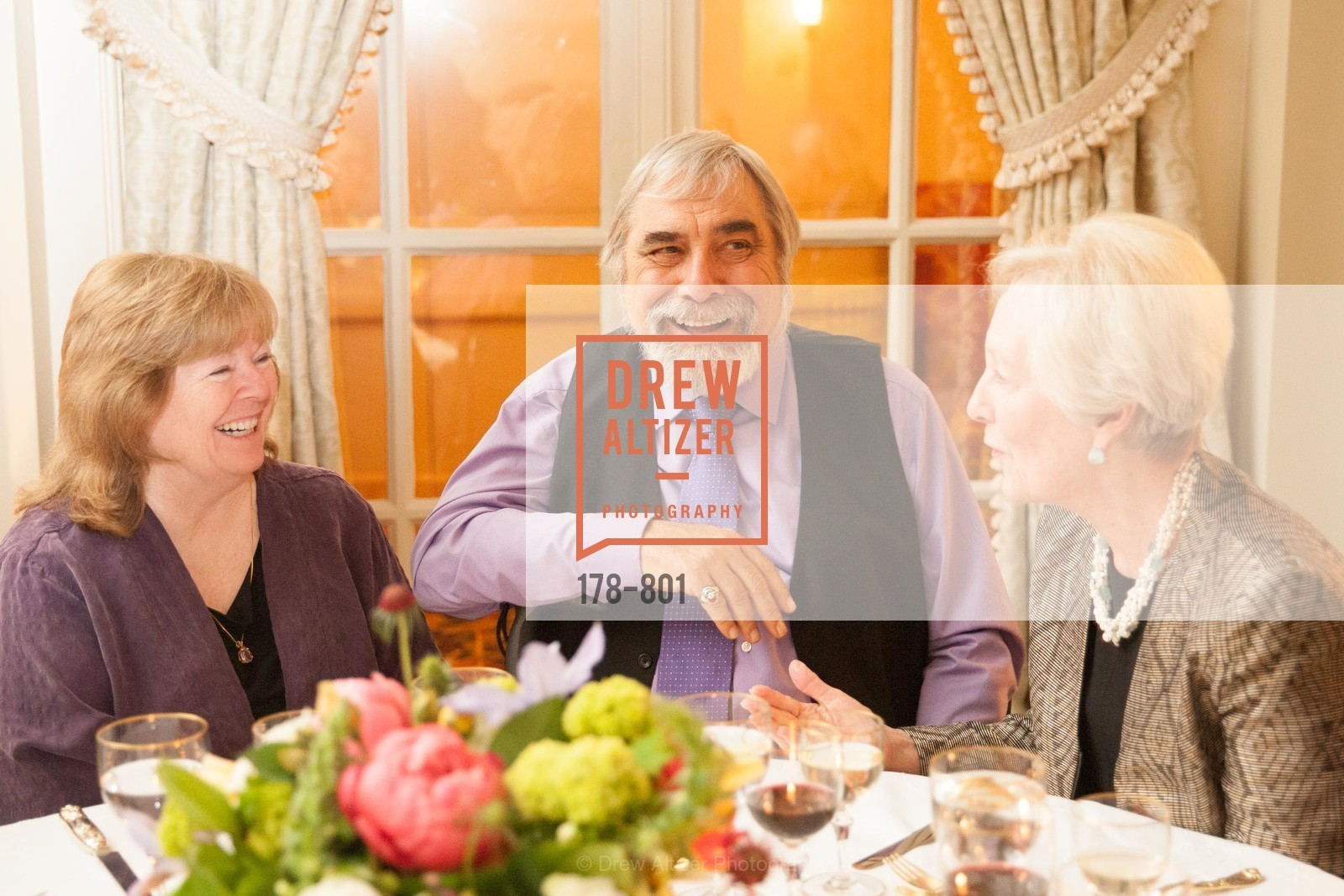 Jo Rogers, George Rogers, Sally Gallagher, GETTY Hosts Leakey Foundation Dinner, US, April 24th, 2015,Drew Altizer, Drew Altizer Photography, full-service agency, private events, San Francisco photographer, photographer california