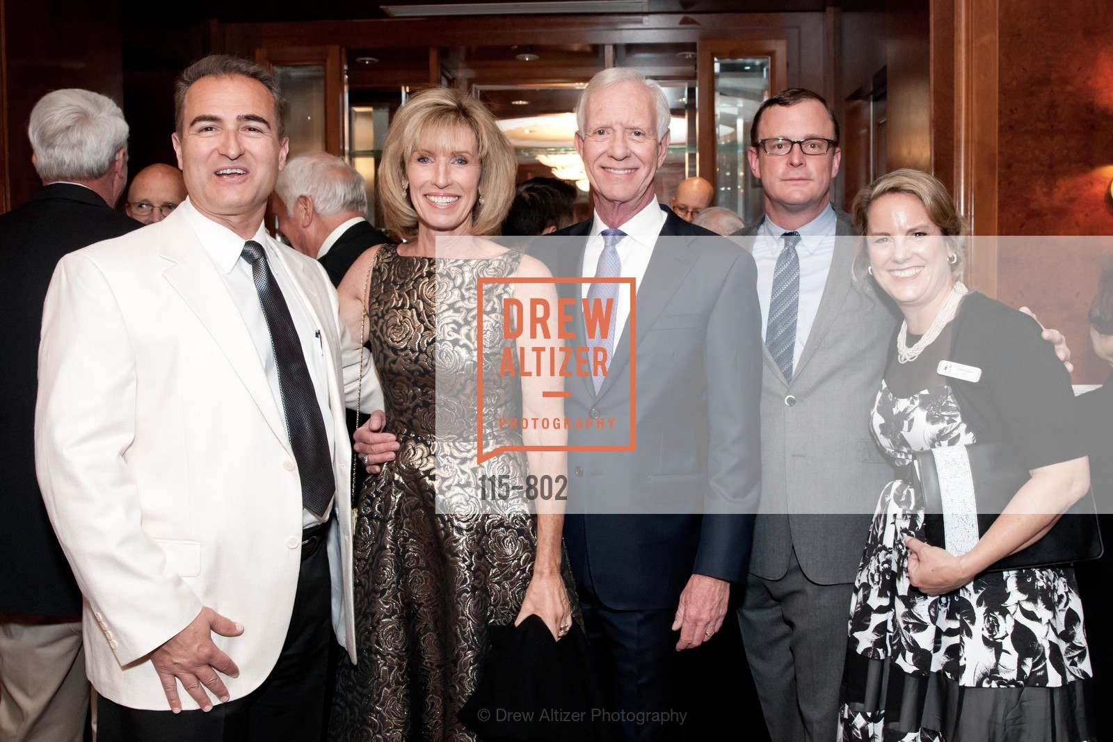 George Papadoyannis, Lorrie Sullenberger, Sully Sullenberger, Dawn Kruger, Photo #115-802