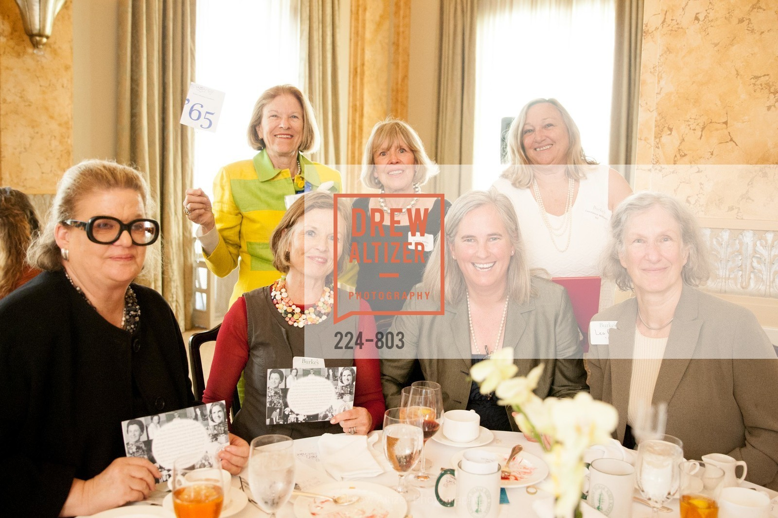 Kathryn Johnston, Sarah Glassie Griffith, Ruthie Conway, Michele Williams, Constance Williams, BURKE'S Alumnae Luncheon, US, April 24th, 2015,Drew Altizer, Drew Altizer Photography, full-service agency, private events, San Francisco photographer, photographer california