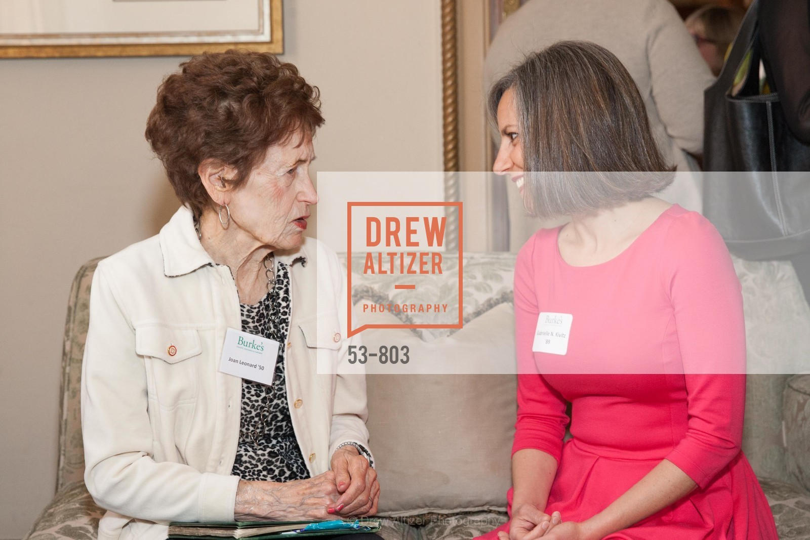 Joan Leonard, Gabrielle Kivitz, BURKE'S Alumnae Luncheon, US, April 25th, 2015,Drew Altizer, Drew Altizer Photography, full-service agency, private events, San Francisco photographer, photographer california