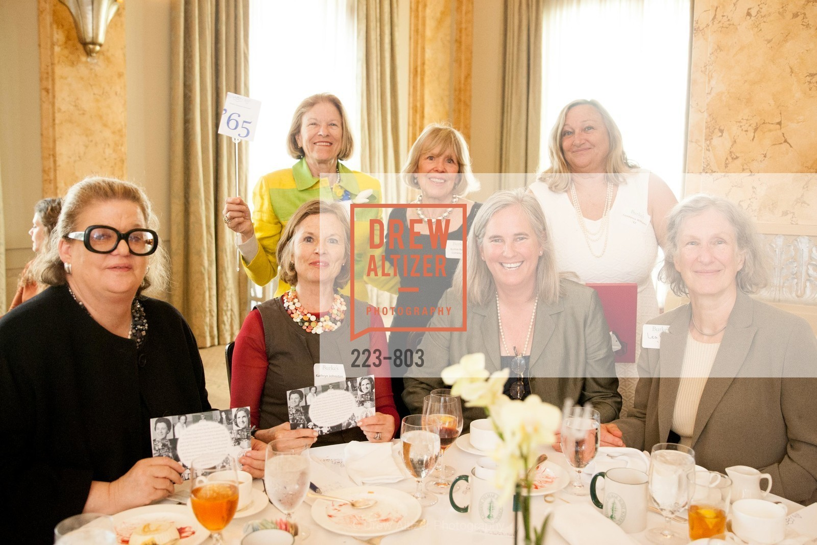 Kathryn Johnston, Sarah Glassie Griffith, Ruthie Conway, Michele Williams, Constance Williams, BURKE'S Alumnae Luncheon, US, April 25th, 2015,Drew Altizer, Drew Altizer Photography, full-service agency, private events, San Francisco photographer, photographer california
