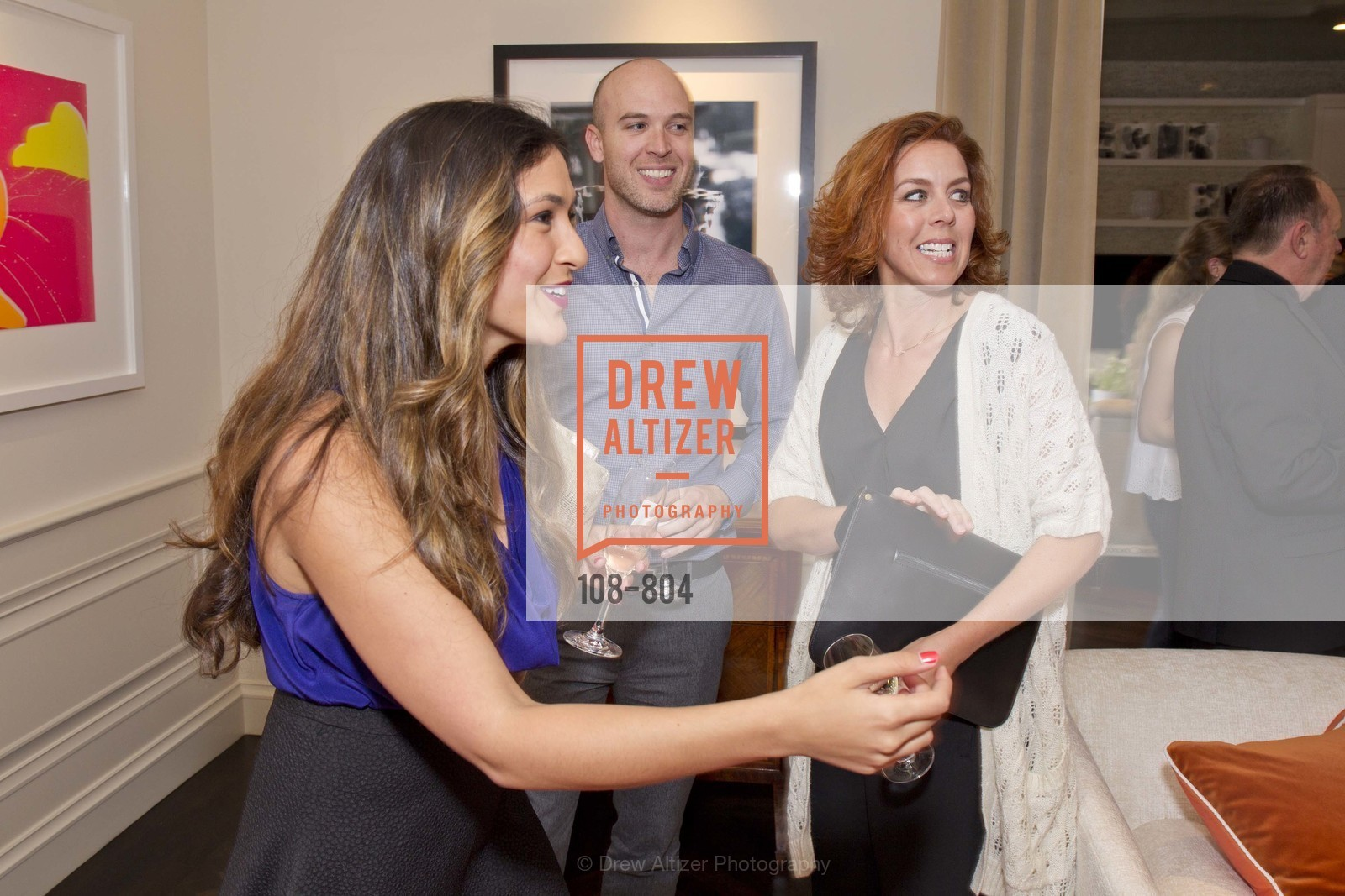 Kelsey Mazada, Chase Roberson, Phaedra Wilson, San Francisco Decorator Showcase Opening Night Party, US, April 24th, 2015,Drew Altizer, Drew Altizer Photography, full-service agency, private events, San Francisco photographer, photographer california
