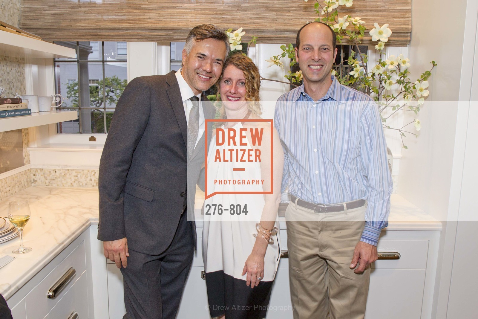 Eric Reiman, Kathleen Navarra, John McDill, San Francisco Decorator Showcase Opening Night Party, US, April 24th, 2015,Drew Altizer, Drew Altizer Photography, full-service agency, private events, San Francisco photographer, photographer california