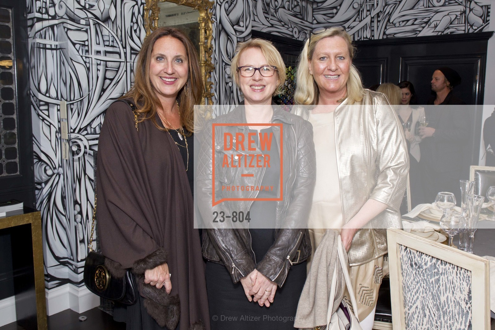 Natalie Mize, Karen Wallis, Jennifer Matthews, San Francisco Decorator Showcase Opening Night Party, US, April 25th, 2015,Drew Altizer, Drew Altizer Photography, full-service agency, private events, San Francisco photographer, photographer california