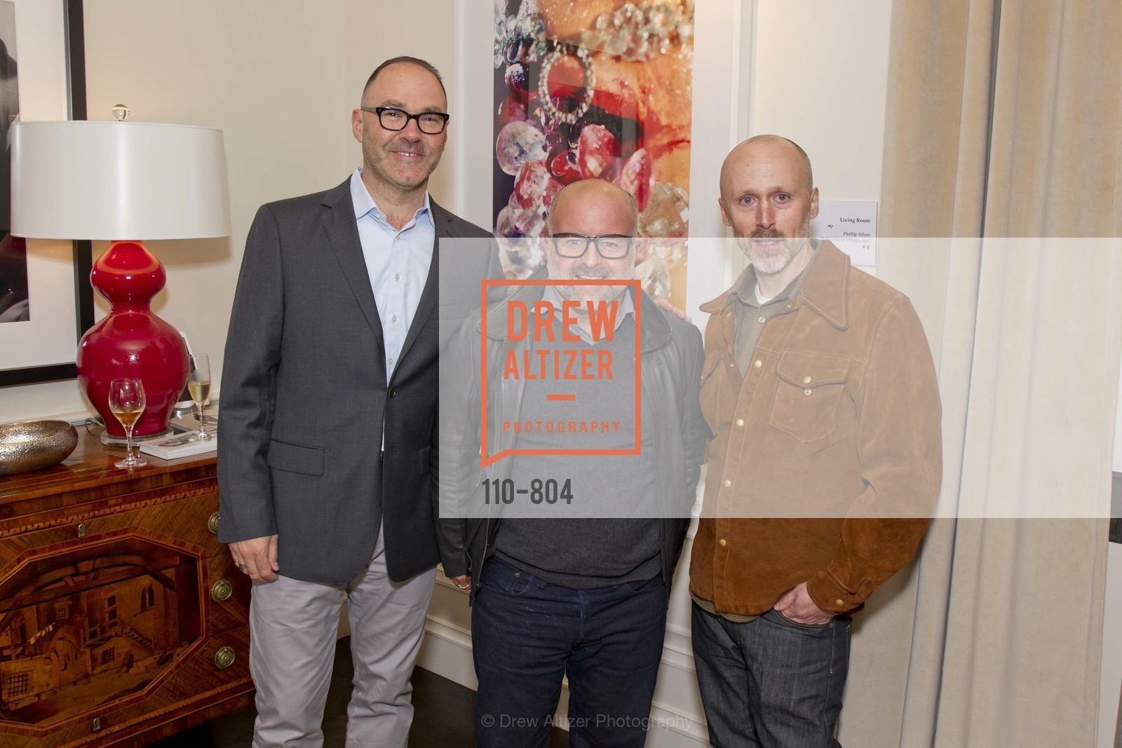 Scott Owens, Steven Miller, Kirk Maxson, San Francisco Decorator Showcase Opening Night Party, US, April 25th, 2015,Drew Altizer, Drew Altizer Photography, full-service agency, private events, San Francisco photographer, photographer california