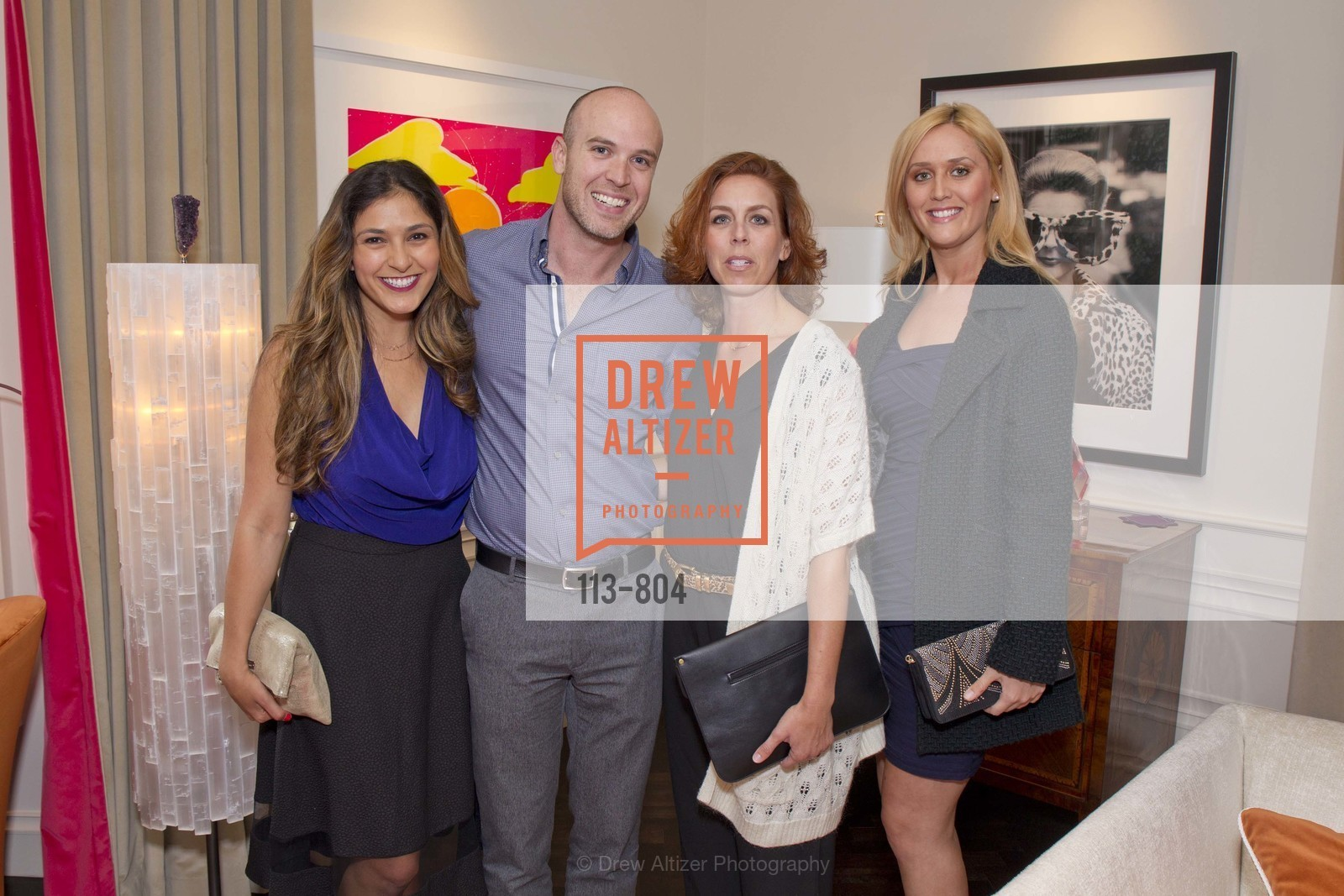 Kelsey Mazada, Chase Roberson, Phaedra Wilson, Jessica Barnard, San Francisco Decorator Showcase Opening Night Party, US, April 25th, 2015,Drew Altizer, Drew Altizer Photography, full-service agency, private events, San Francisco photographer, photographer california
