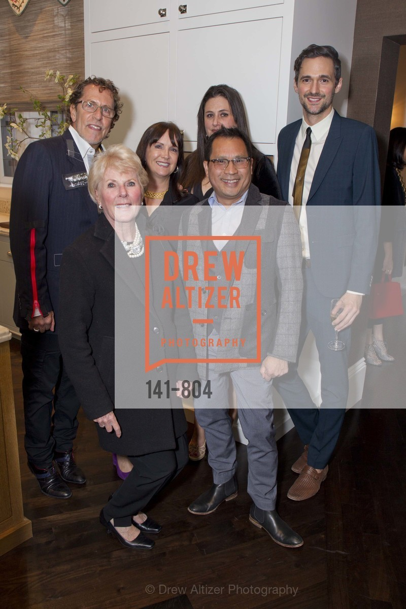 Kay Evans, Roy Tran, Glen De Matiere, Claudia Juestel, Celeste Barnes-Bremer, Tommy Vollner, San Francisco Decorator Showcase Opening Night Party, US, April 25th, 2015,Drew Altizer, Drew Altizer Photography, full-service agency, private events, San Francisco photographer, photographer california