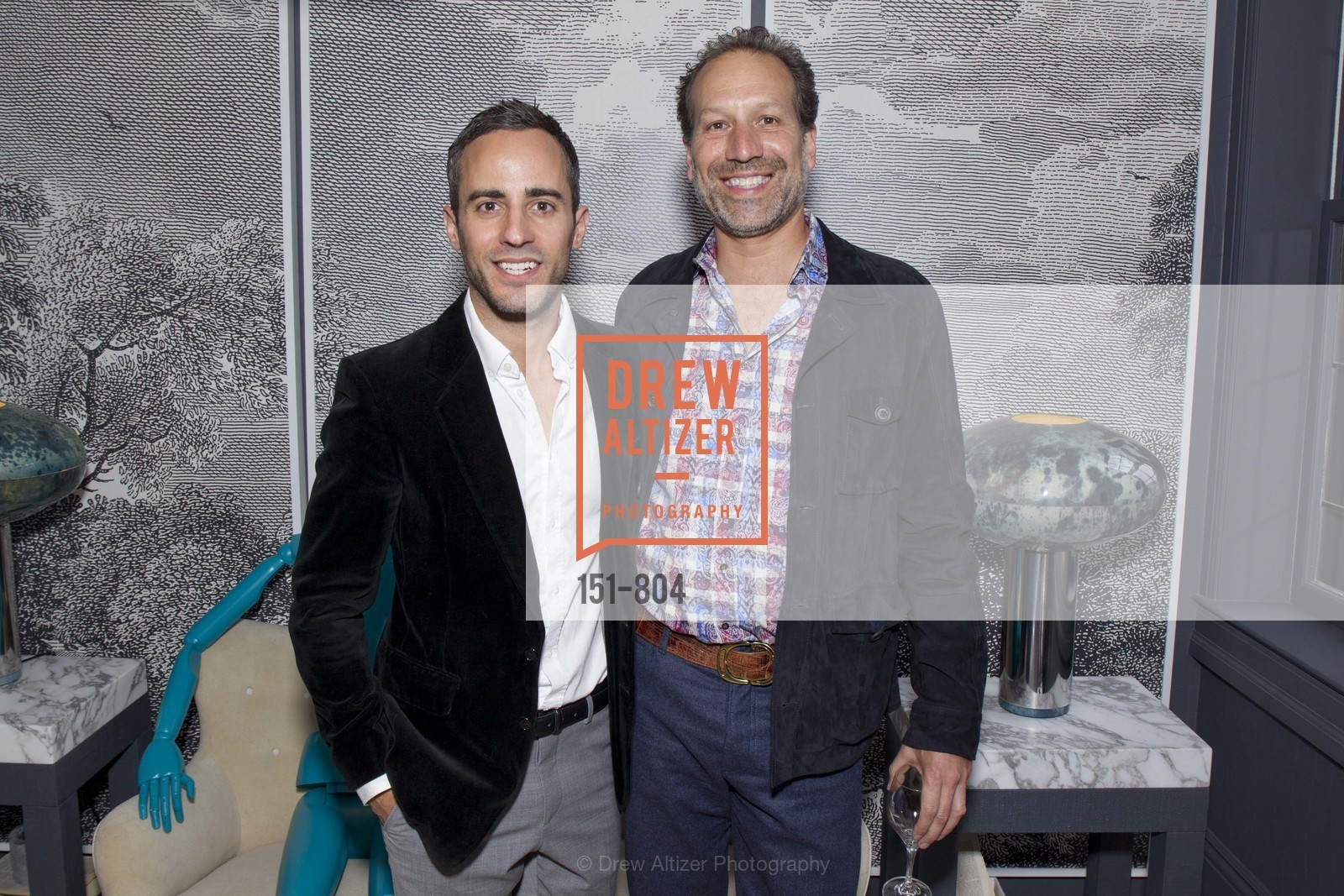 Eche Martinez, Peter Englander, San Francisco Decorator Showcase Opening Night Party, US, April 25th, 2015,Drew Altizer, Drew Altizer Photography, full-service agency, private events, San Francisco photographer, photographer california