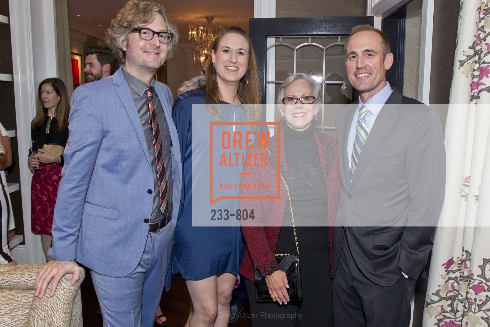 Scott Stedridge, Kelly Hohla, Janet Greenbell, Ron Bond, San Francisco Decorator Showcase Opening Night Party, US, April 25th, 2015,Drew Altizer, Drew Altizer Photography, full-service agency, private events, San Francisco photographer, photographer california