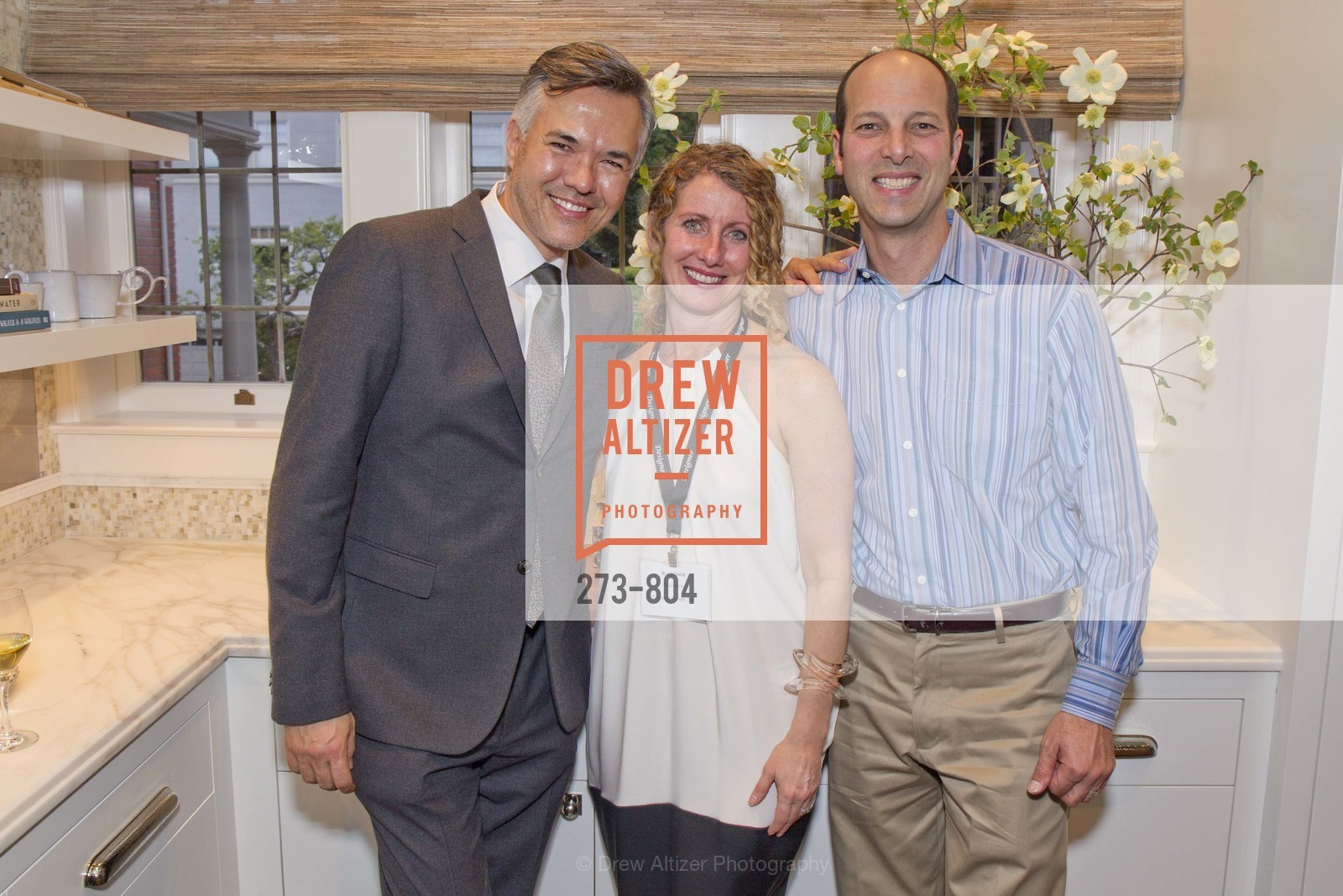 Eric Reiman, Kathleen Navarra, John McDill, San Francisco Decorator Showcase Opening Night Party, US, April 25th, 2015,Drew Altizer, Drew Altizer Photography, full-service agency, private events, San Francisco photographer, photographer california