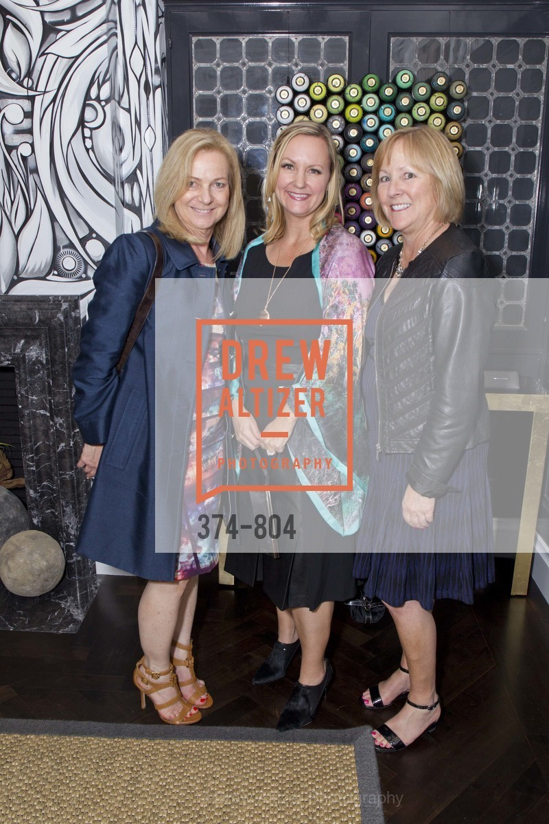 Jana Magginetti, Melanie Coddington, Diane Elcan, San Francisco Decorator Showcase Opening Night Party, US, April 24th, 2015,Drew Altizer, Drew Altizer Photography, full-service agency, private events, San Francisco photographer, photographer california