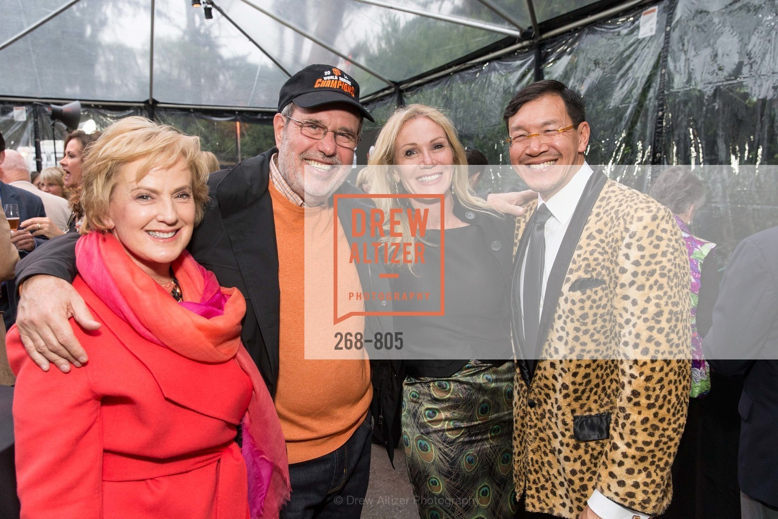 Marie Lipman, Barry Lipman, Rosemary Baker, Timothy Wu, Photo #268-805