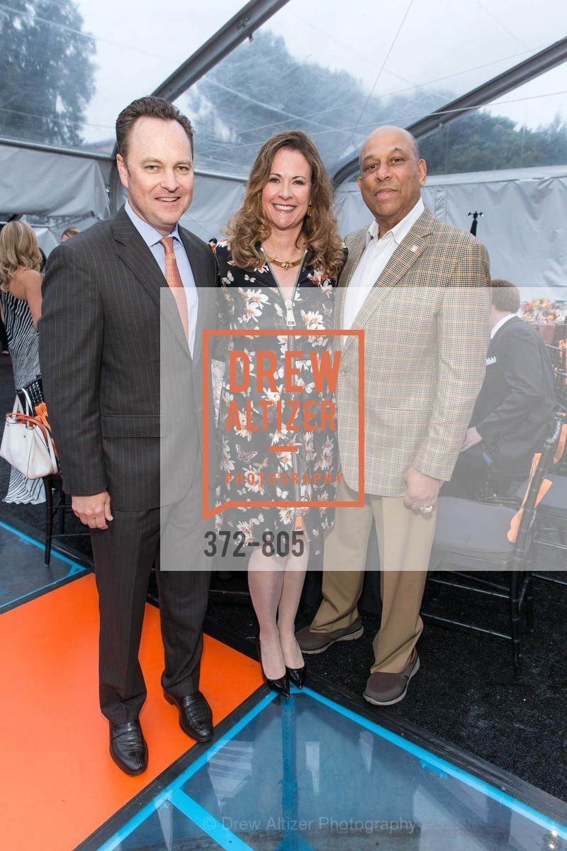 Rich Peterson, Tanya Peterson, Orlando Cepeda, Photo #372-805