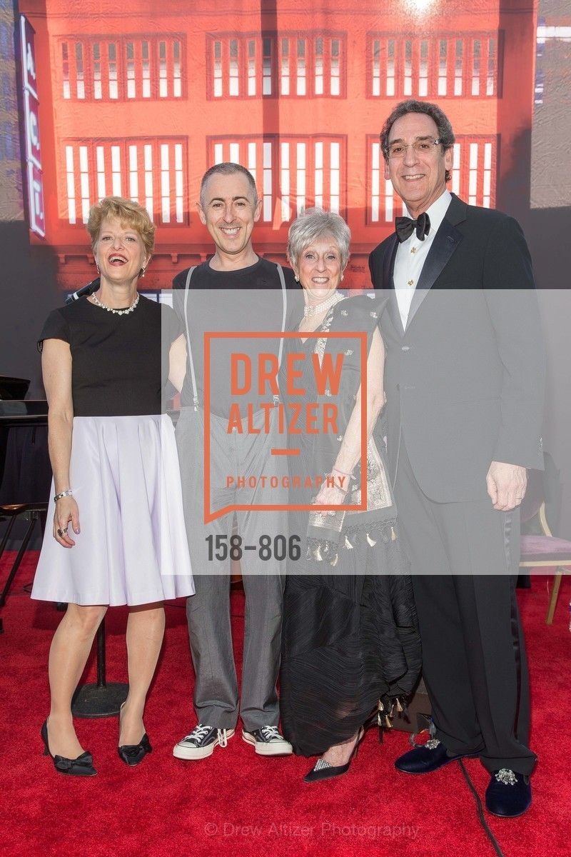 Carey Perloff, Alan Cumming, Nancy Livingston, Fred Levin, A.C.T. Gala Come Get Stranded, US, April 26th, 2015,Drew Altizer, Drew Altizer Photography, full-service event agency, private events, San Francisco photographer, photographer California