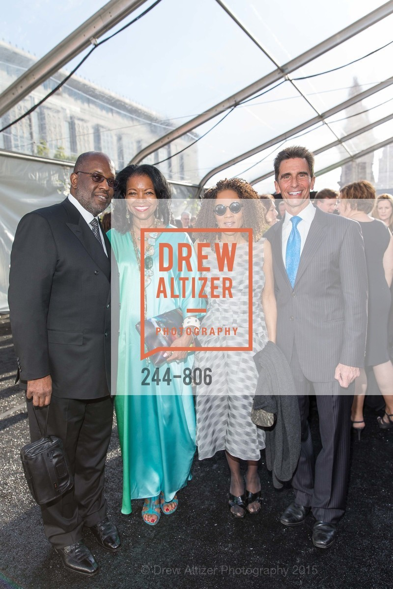 Bernard Tyson, Denise Bradley Tyson, Paula West, Mark Leno, A.C.T. Gala Come Get Stranded, US, April 26th, 2015,Drew Altizer, Drew Altizer Photography, full-service agency, private events, San Francisco photographer, photographer california