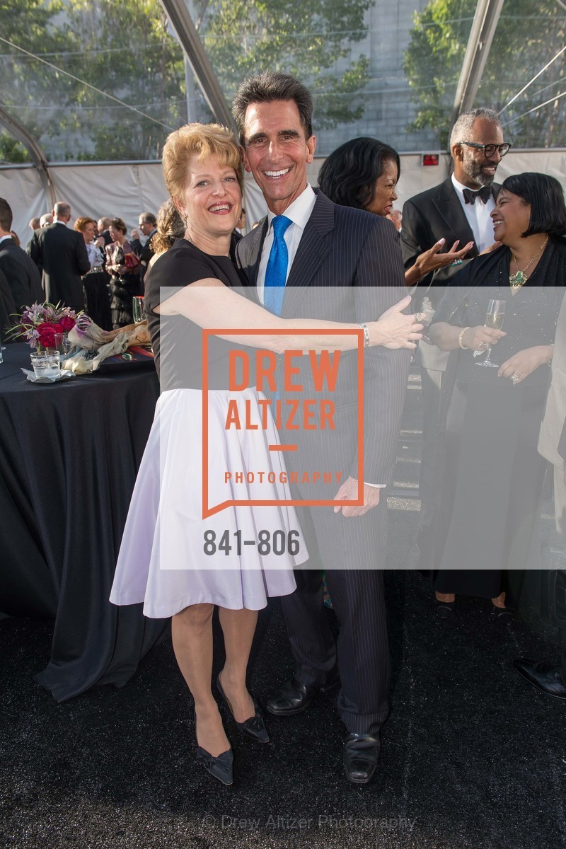 Carey Perloff, Mark Leno, Photo #841-806