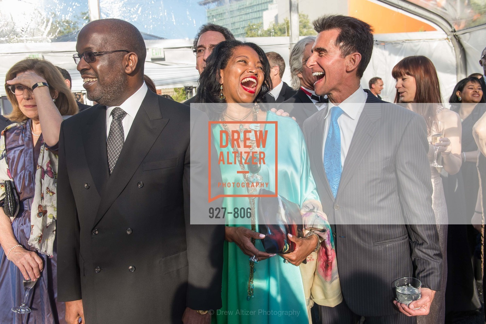 Bernard Tyson, Denise Bradley Tyson, Mark Leno, A.C.T. Gala Come Get Stranded, US, April 26th, 2015,Drew Altizer, Drew Altizer Photography, full-service agency, private events, San Francisco photographer, photographer california