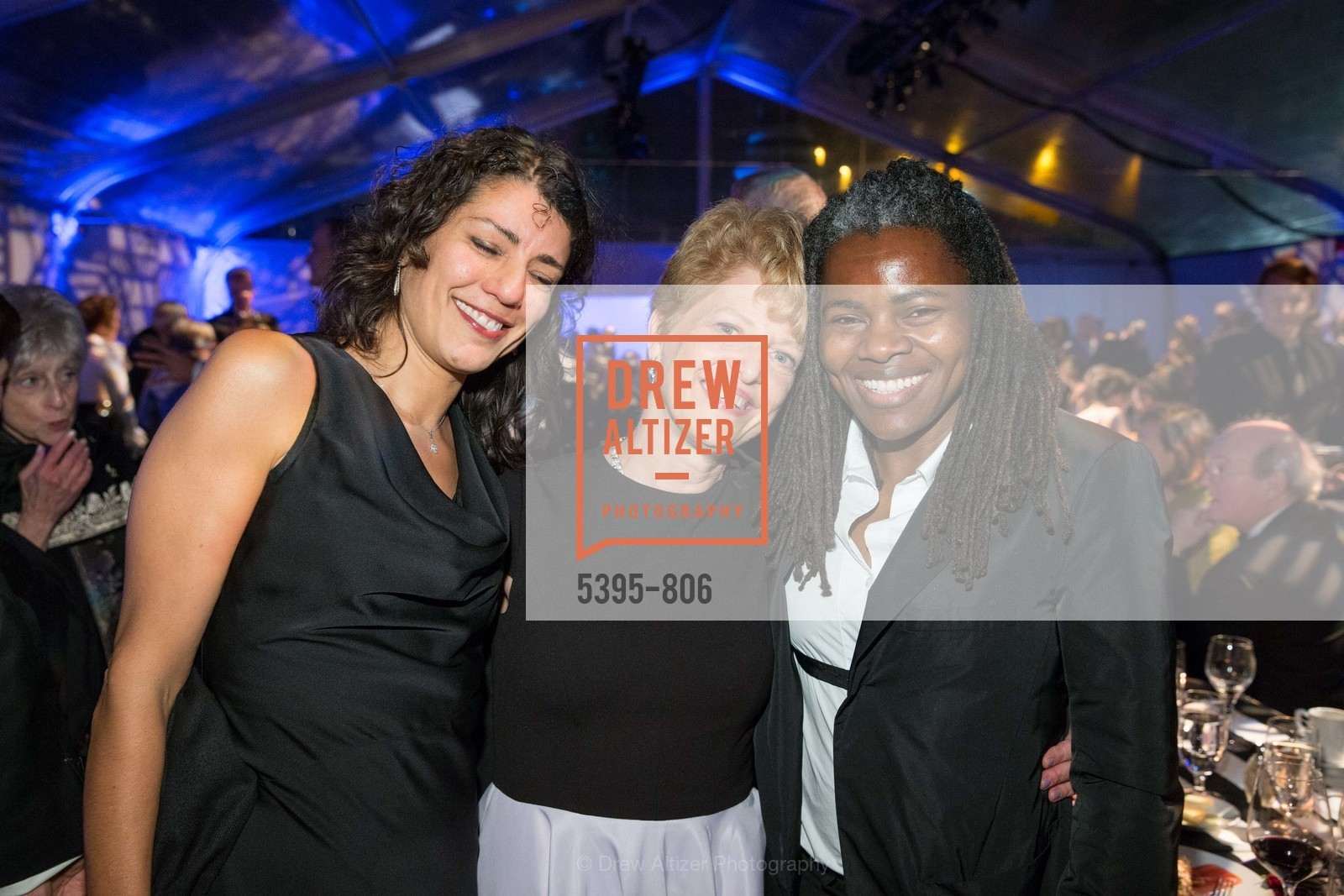 Erica Smith, Carey Perloff, Tracy Chapman, A.C.T. Gala Come Get Stranded, US, April 26th, 2015,Drew Altizer, Drew Altizer Photography, full-service agency, private events, San Francisco photographer, photographer california