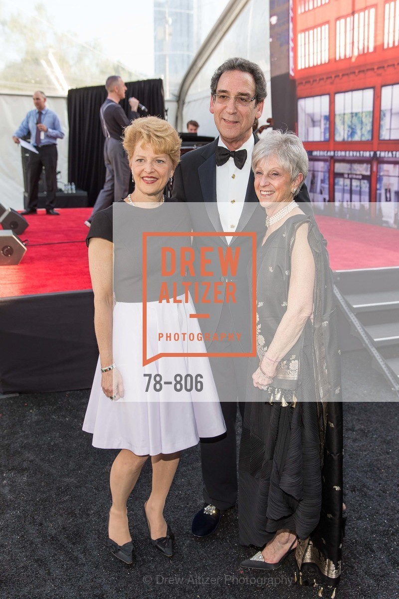 Carey Perloff, Fred Levin, Nancy Livingston, A.C.T. Gala Come Get Stranded, US, April 26th, 2015