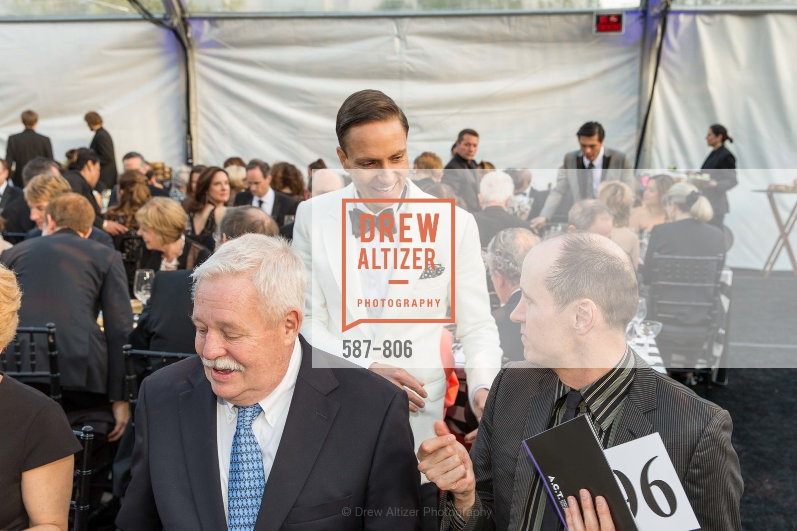 Armistead Maupin, Ken Fulk, A.C.T. Gala Come Get Stranded, US, April 26th, 2015,Drew Altizer, Drew Altizer Photography, full-service agency, private events, San Francisco photographer, photographer california