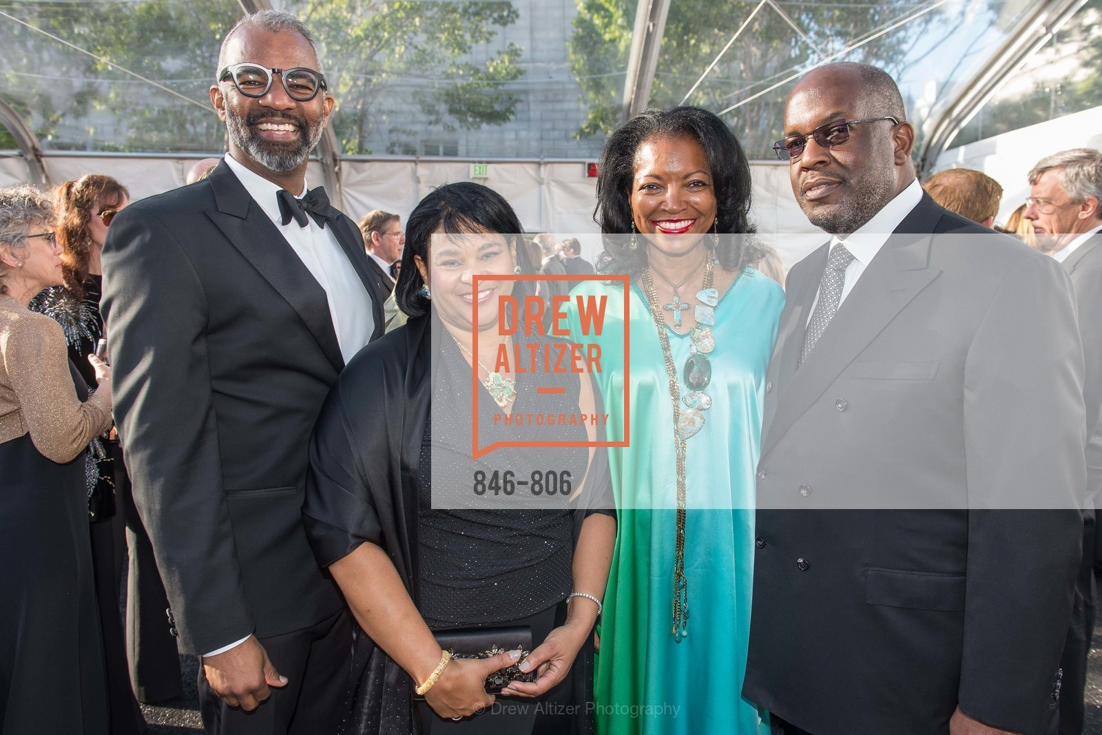 Dr. Tony Cole, Robyn Coles, Denise Bradley Tyson, Bernard Tyson, A.C.T. Gala Come Get Stranded, US, April 26th, 2015,Drew Altizer, Drew Altizer Photography, full-service agency, private events, San Francisco photographer, photographer california