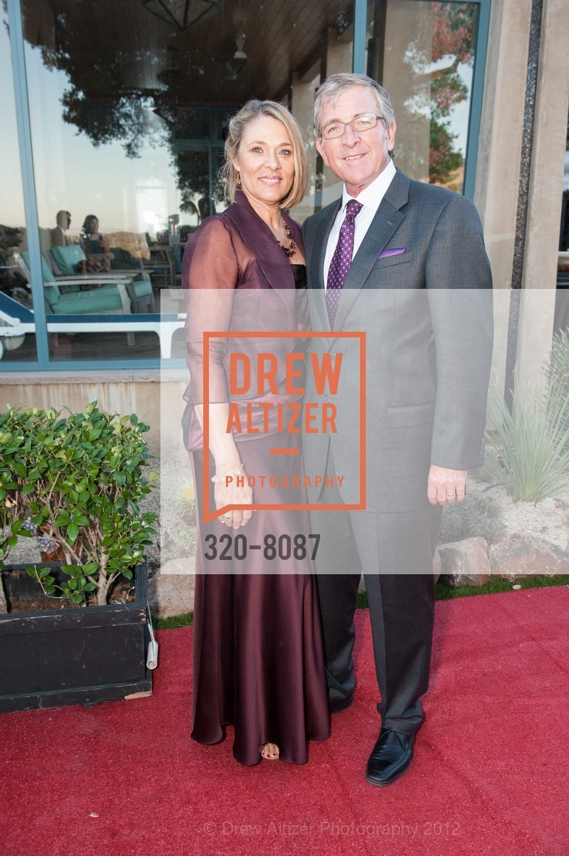 Patty Anderson with Kent Anderson