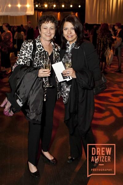Joyce Dattner With Rose Lavandero