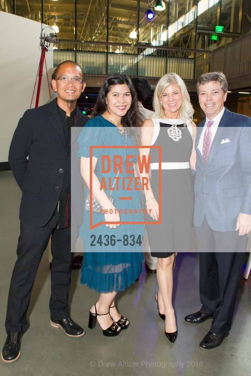 Ambi Bowo, Thesia Bowo, Lynn Callander, Peter Callander, Exploratorium Spring Gala, Exploratorium, 140515, May 15th, 2014