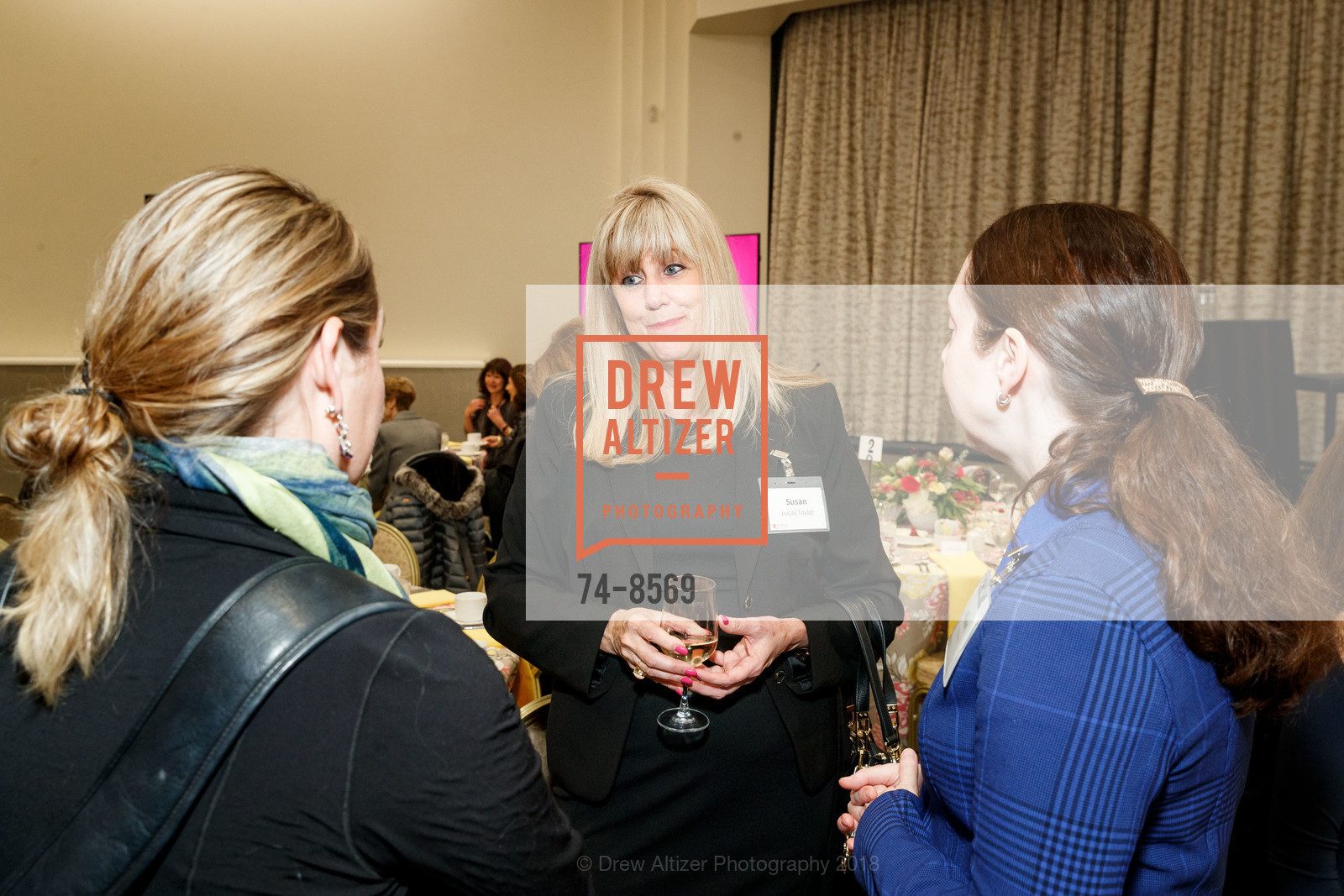 Susan Lucas Taylor at Stanford's Women's Health Luncheon