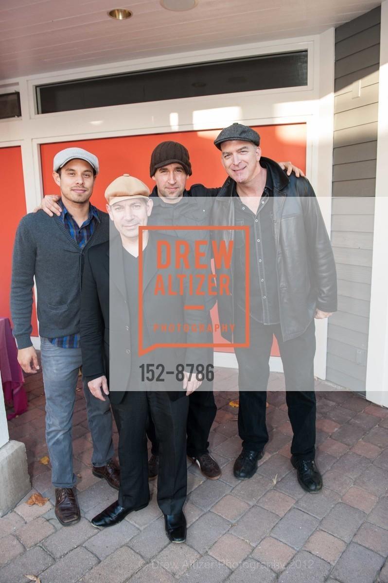 Daniel Caseres with Steve Burke, Brandon Etzler and Tony Stead