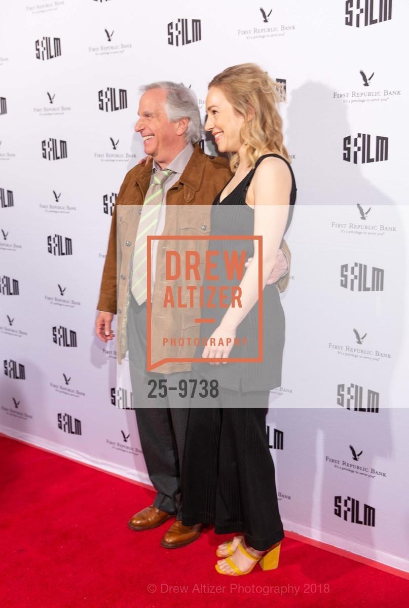 Henry Winkler with Sarah Goldberg